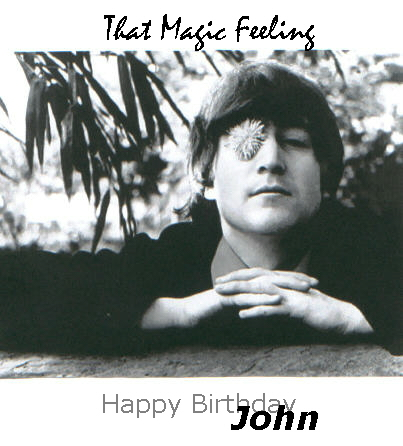 Happy Birthday, John